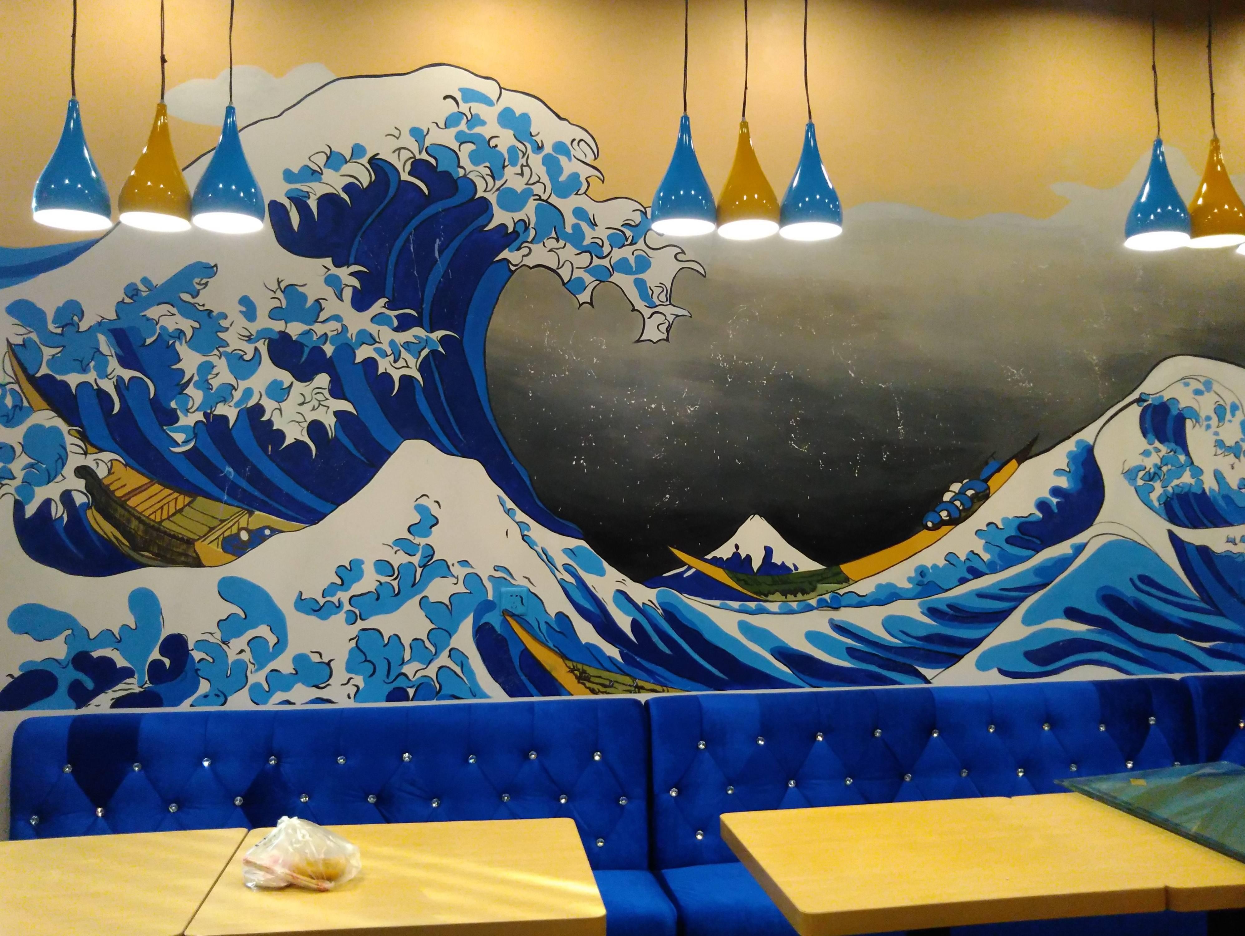 餐厅文化墙