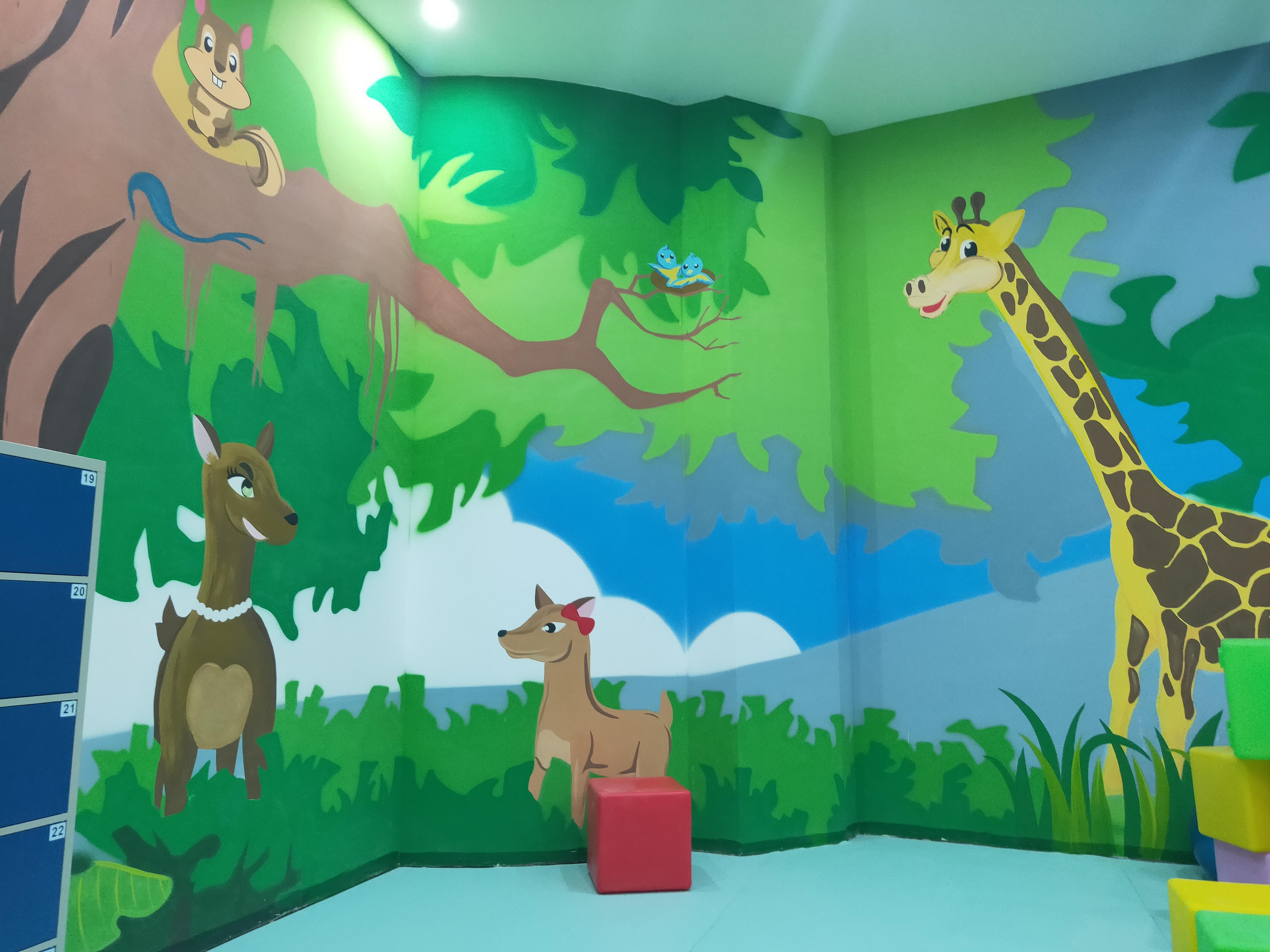 幼儿园 森林主体