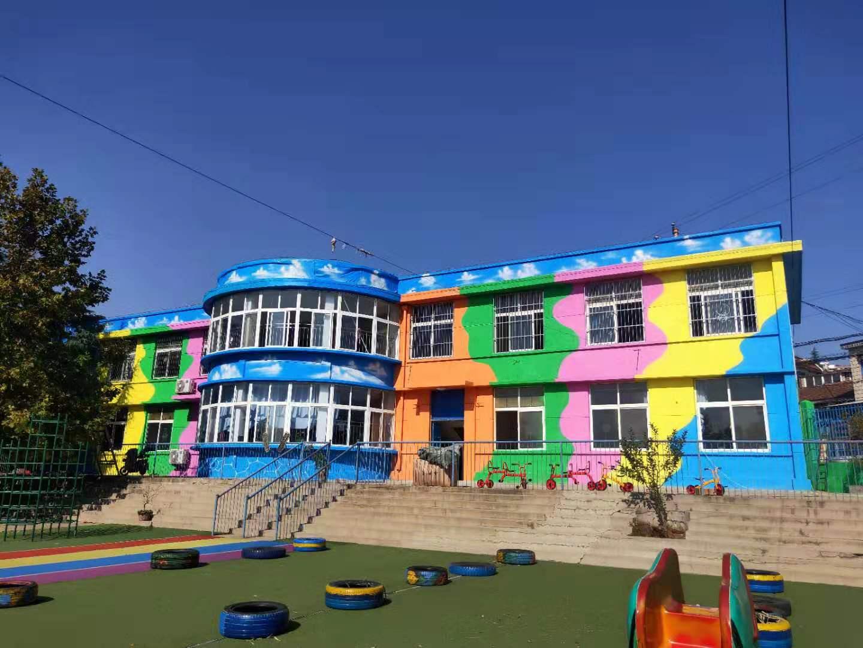 杨庄社区幼儿园墙绘 墙体彩绘